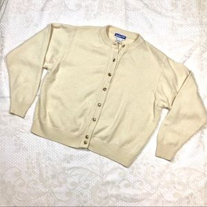 Vintage Pendleton Off white Wool Sweater - As Is